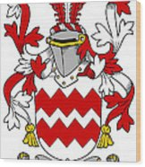 Gaine Coat Of Arms Irish Wood Print