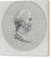 Gaius Cilnius Maecenas  Roman Statesman Wood Print