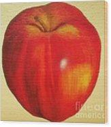 Gala Apple Wood Print
