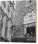 Galata Tower Entry 02 Wood Print
