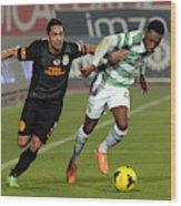 Galatasaray v Celtic - Turkish Airlines Antalya Cup Final Wood Print
