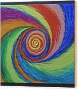 Galaxy M-63 Wood Print
