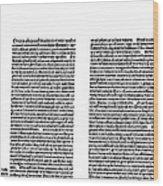 Galen: Opera Omnia Wood Print