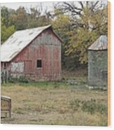 Galena Barn #17 Wood Print