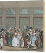 Galerie De Bois, C1740 Wood Print