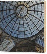Galleria  In Milan Wood Print