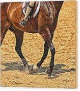 Gallop Wood Print