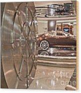 The Vault - Aston Martin Wood Print