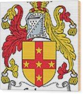 Galwey Coat Of Arms Irish Wood Print