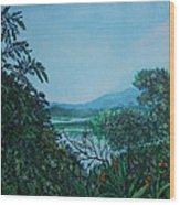 Gamboa Wood Print