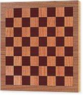 Game Board Wood Print