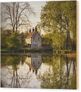 Game Keepers Cottage Cusworth Wood Print by Ian Barber