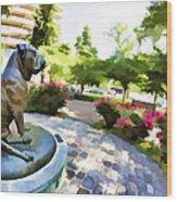 Gamekeepers Dog Park Wood Print