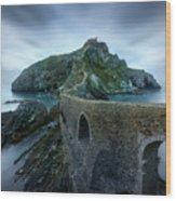Games Of Thrones - Dragonstone Island -san Juan De Gaztelugatxe Wood Print