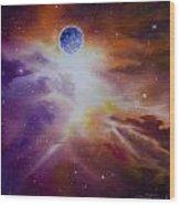 Gamma Nebula Wood Print