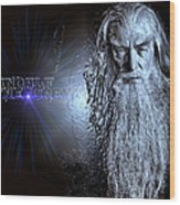 Gandalf The Grey Wood Print