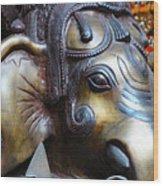 Ganesh Bodhi Wood Print