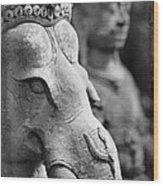 Ganesha In Time Wood Print