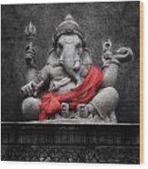 Ganesha V.1 Wood Print