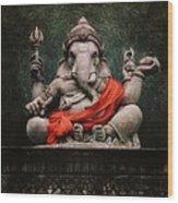 Ganesha V.2 Wood Print