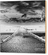 Gangplank Of Perfection Infrared Extreme Wood Print