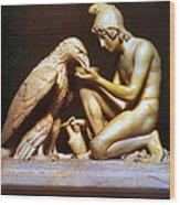 Ganymede Waters Zeus  Wood Print