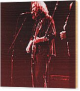 Concert  - Grateful Dead #33 Wood Print