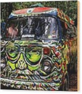 Garcia Vw Bus Wood Print