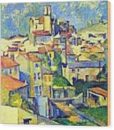 Gardanne By Cezanne Wood Print