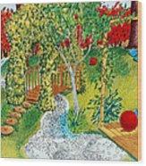 Garden # 1 Wood Print