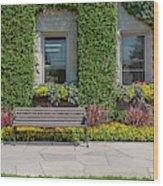 Garden At Niagara Parks School Wood Print