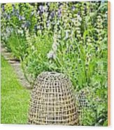 Garden Decoration Wood Print