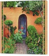 Garden Delights Mesilla Wood Print