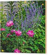 Garden Delights Wood Print