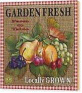 Garden Fresh-jp2386 Wood Print
