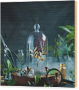 Garden Golden. Part 5 Wood Print