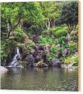 Garden Green Wood Print