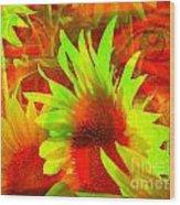 Garden Guardian 4 Wood Print