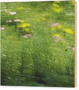 Garden Impressions Wood Print