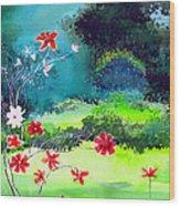 Garden Magic Wood Print