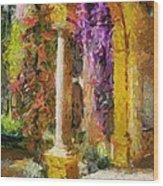 Garden Of Eden Wood Print