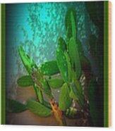 Garden Of Eden Light Wood Print