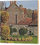 Garden Of Winchester Wood Print