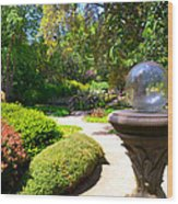 Garden Of Wishes Wood Print