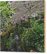 Garden Sanctuary Wood Print