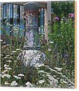 Garden Sentry Wood Print