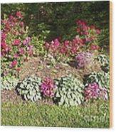 Garden Splender Wood Print