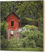 Garden Still Life Wood Print