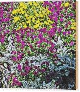 Garden Variety Wood Print