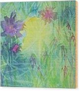 Garden Vortex Wood Print